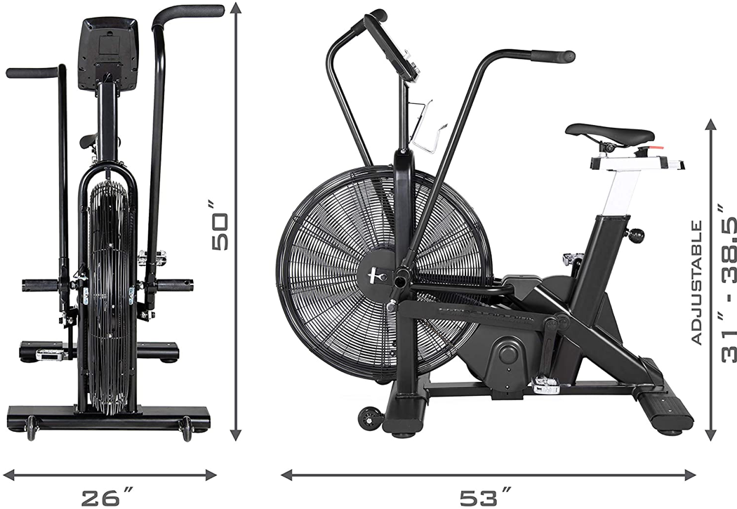 FORCE 1 Exercise Air Bike