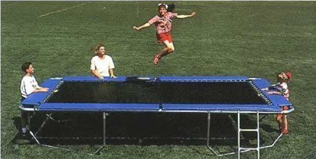All American Rectangular Trampoline